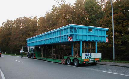 VPS Schwimmbecken Transport